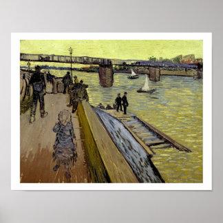 Vincent van Gogh | Le Pont de Trinquetaille Arles Poster