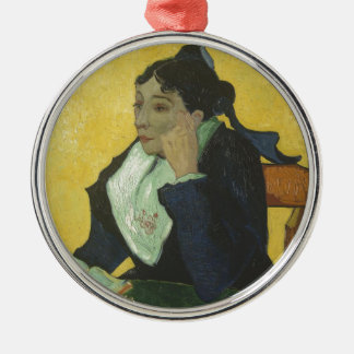 Vincent Van Gogh - Madame Ginoux with Books Christmas Ornament