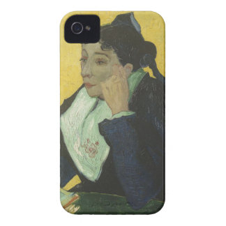 Vincent Van Gogh - Madame Ginoux with Books iPhone 4 Covers