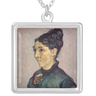Vincent van Gogh | Madame Jeanne Lafuye Trabuc Silver Plated Necklace