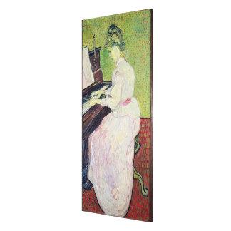 Vincent van Gogh | Marguerite Gachet at the Piano Canvas Print