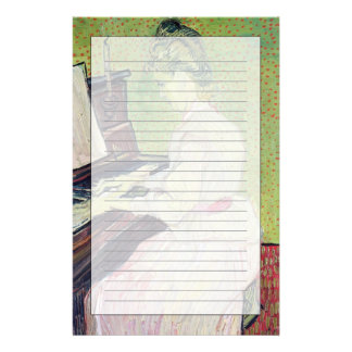 Vincent van Gogh | Marguerite Gachet at the Piano Personalized Stationery