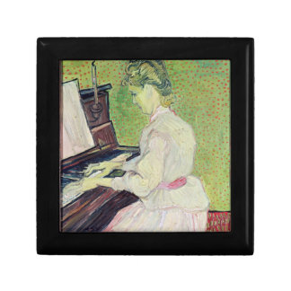 Vincent van Gogh | Marguerite Gachet at the Piano Small Square Gift Box