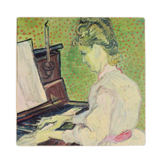 Vincent van Gogh | Marguerite Gachet at the Piano Wood Coaster