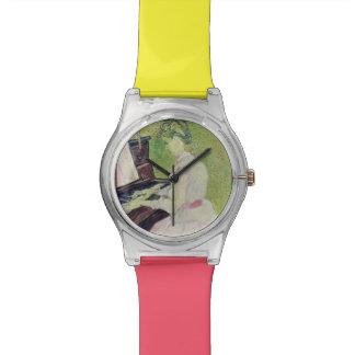 Vincent van Gogh | Marguerite Gachet at the Piano Wrist Watches