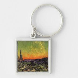 Vincent Van Gogh Moonlit Landscape Key Chains