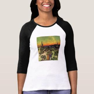 Vincent Van Gogh Moonlit Landscape T Shirts