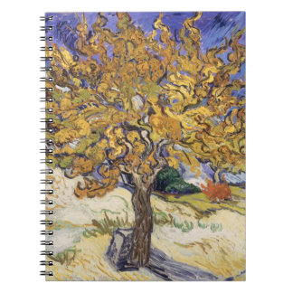 Vincent van Gogh | Mulberry Tree, 1889 Spiral Notebook