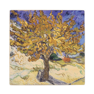 Vincent van Gogh | Mulberry Tree, 1889 Wood Coaster