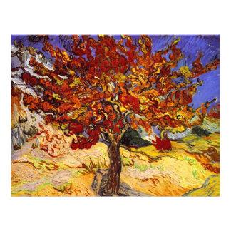Vincent Van Gogh Mulberry Tree Fine Art Painting 21.5 Cm X 28 Cm Flyer