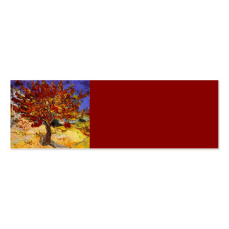 Vincent Van Gogh Mulberry Tree Fine Art Painting Pack Of Skinny Business Cards