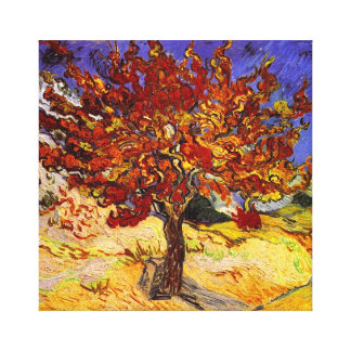 Vincent Van Gogh Mulberry Tree Fine Art Painting Canvas Print