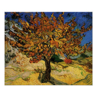 Vincent van Gogh - Mulberry Tree Poster