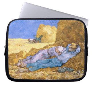 Vincent van Gogh | Noon, The Siesta, after Millet Laptop Sleeves