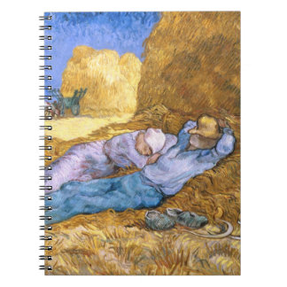 Vincent van Gogh | Noon, The Siesta, after Millet Notebook