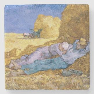 Vincent van Gogh   Noon, The Siesta, after Millet Stone Coaster