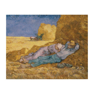 Vincent van Gogh | Noon, The Siesta, after Millet Wood Canvases