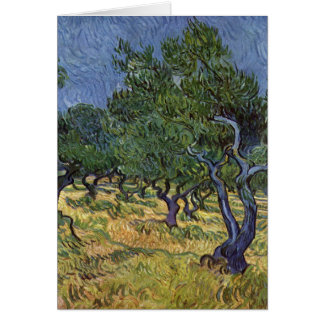 Vincent van Gogh - Olive Grove Card