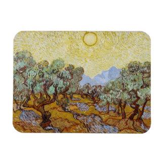 Vincent van Gogh | Olive Trees, 1889 Rectangular Photo Magnet