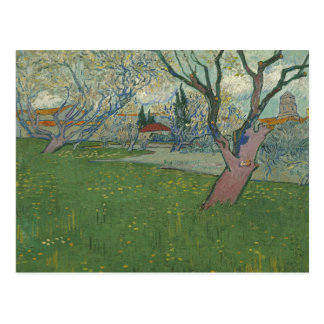 Vincent van Gogh - Orchards in Blossom Postcard