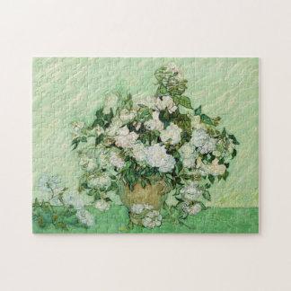 Vincent van Gogh Painting, Roses 1890 Puzzle