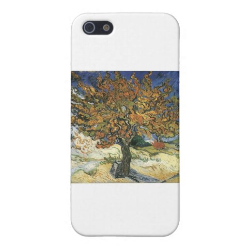 Vincent Van Gogh Painting: Van Gogh Mulberry Tree Covers For iPhone 5