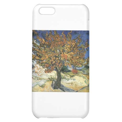 Vincent Van Gogh Painting: Van Gogh Mulberry Tree iPhone 5C Covers