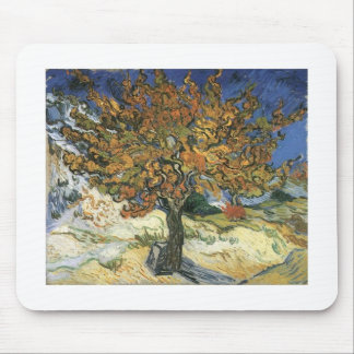 Vincent Van Gogh Painting Van Gogh Mulberry Tree Mousepads