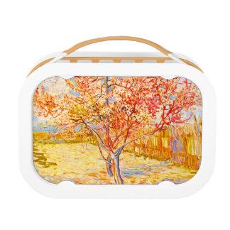 Vincent Van Gogh Peach Tree in Blossom Vintage Art Lunch Box