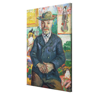Vincent van Gogh | Pere Tanguy (Father Tanguy) Canvas Print
