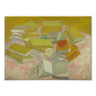 Vincent van Gogh - Piles of French novels Photographic Print