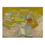 Vincent van Gogh - Piles of French novels Postcard