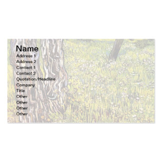 Vincent Van Gogh - Pine Trees And Dandelions Pack Of Standard Business Cards