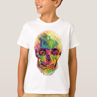 Vincent Van Gogh - Pop Art Halloween Skull T-Shirt