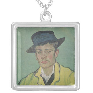 Vincent van Gogh | Portrait of Armand Roulin, 1888 Silver Plated Necklace