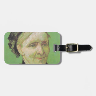 Vincent Van Gogh Portrait of Artist's Mother Art Bag Tag