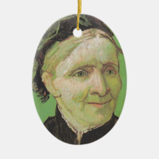 Vincent Van Gogh Portrait of Artist's Mother Art Ceramic Oval Decoration