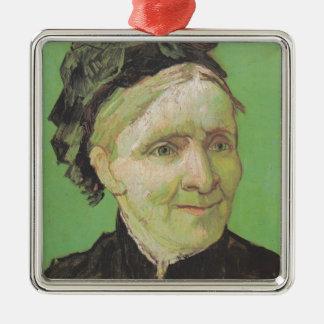 Vincent Van Gogh Portrait of Artist's Mother Art Christmas Ornament