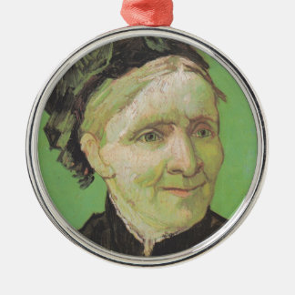 Vincent Van Gogh Portrait of Artist's Mother Art Christmas Ornament
