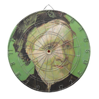 Vincent Van Gogh Portrait of Artist's Mother Art Dartboard