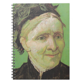 Vincent Van Gogh Portrait of Artist's Mother Art Note Book
