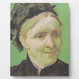 Vincent Van Gogh Portrait of Artist's Mother Art Plaque