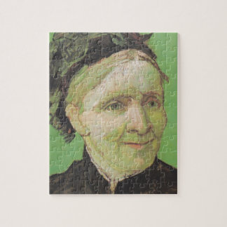 Vincent Van Gogh Portrait of Artist's Mother Art Puzzle