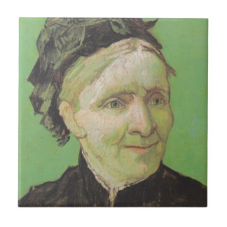 Vincent Van Gogh Portrait of Artist's Mother Art Tile