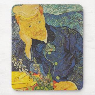 Vincent Van Gogh - Portrait of Dr Gachet Mousepads