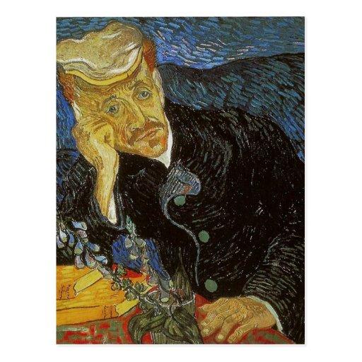 Vincent van Gogh Portrait of Dr. Gachet was painte Post Cards