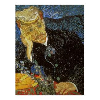 Vincent van Gogh Portrait of Dr. Gachet was painte Post Card