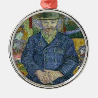 Vincent Van Gogh - Portrait of Pere Tanguy Christmas Ornament