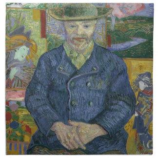 Vincent Van Gogh - Portrait of Pere Tanguy Napkin