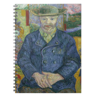Vincent Van Gogh - Portrait of Pere Tanguy Notebooks
